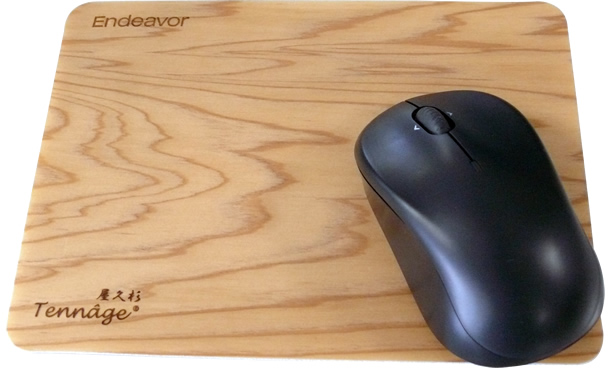 Matching mouse pad with Tennâge®